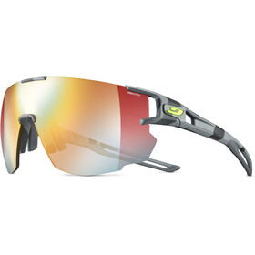 Julbo Aerospeed Segment Light Red Okulary przeciwsłoneczne, grey/yellow/multilayer red